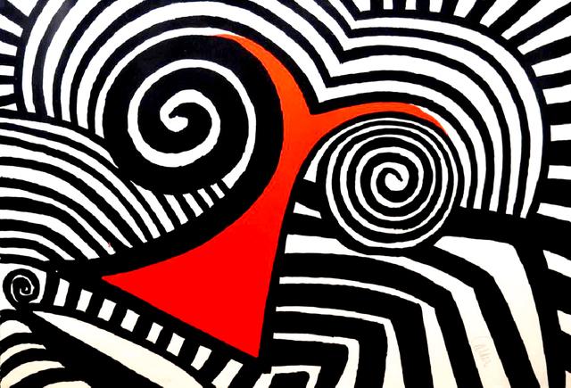 Alexander Calder, 'Red Nose ', 1969, Pascal Fine Art