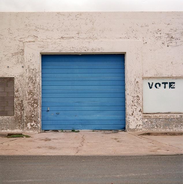 Allison V. Smith, 'Vote. October 2003. Marfa, Texas', 2009, Barry Whistler Gallery