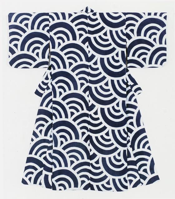 , 'Summer informal kimono (yukata),' , Seattle Art Museum