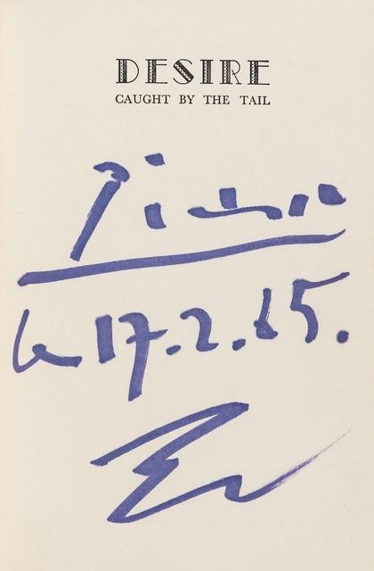 Pablo Picasso, 'Desire', 1962, Forum Auctions