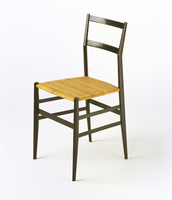 ", '""Supperleggera"" chair,' 1957, Triennale Design Museum"