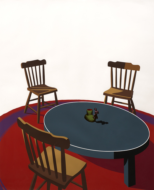 , 'Chairs, Table, Rug, Cup (Interior Series),' 1971, Aaron Payne Fine Art