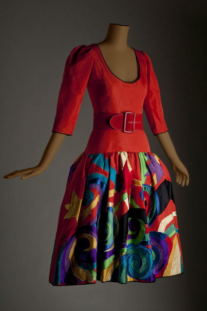 , 'Picasso evening dress,' 1979-1980, Bellevue Arts Museum