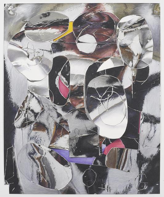 , 'N.O.G (Artist Reflected),' 2017, David Nolan Gallery