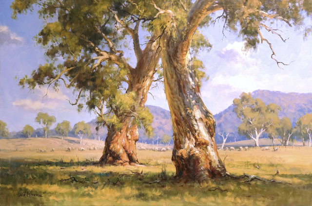 Ted Lewis, 'Gums of Bylong Valley', 2018, Wentworth Galleries