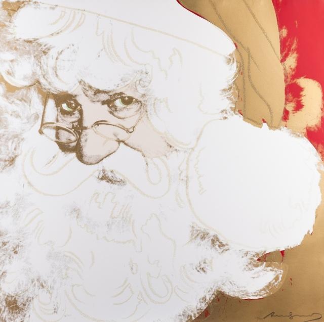 Andy Warhol, 'Santa Claus (Feldman & Schellmann II.266)', 1981, Print, Screenprint in colours, Forum Auctions