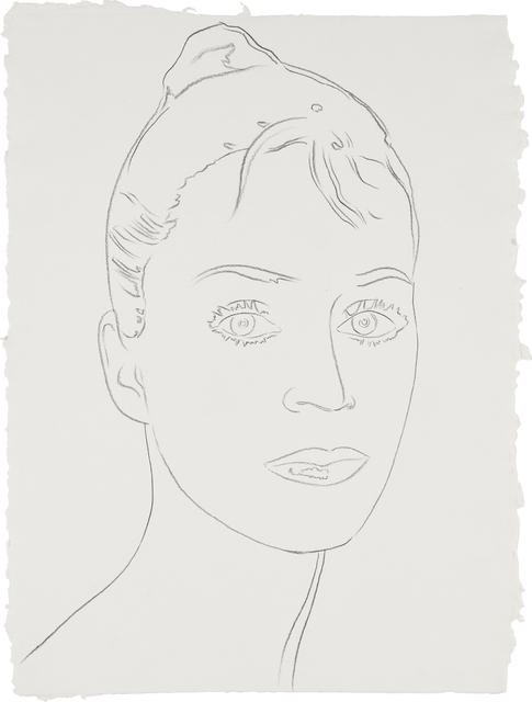 Andy Warhol, 'Heather Watts', ca. 1986, Phillips