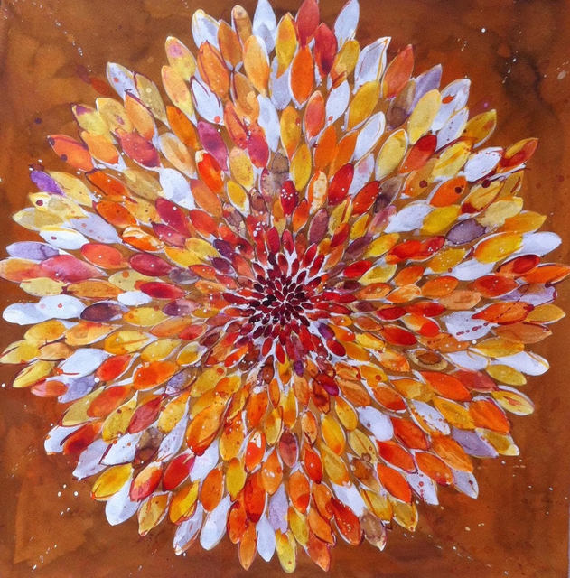 , 'Big Orange Flower 4.16,' 2016, ARC Fine Art LLC