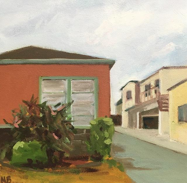 Nancy Benton, 'Red House', 2019, JCO's Art Haus