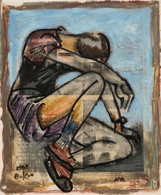 , 'Male Reclining,' 1995, Van Der Plas Gallery