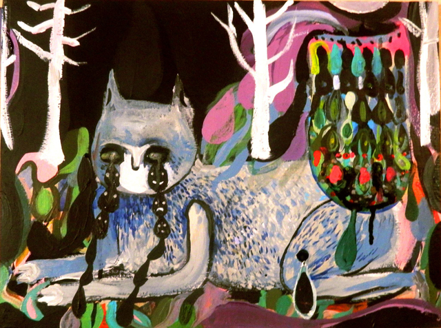 , 'Dolce Gatto in Giardino,' 2015, Robert Kananaj Gallery