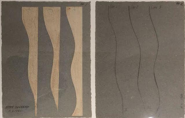 David Lamelas, 'After Duchamp, 3 lines', 1989, Herlitzka + Faria