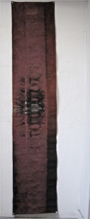 """, '""""Toile calcinée 6785"""",' 1976, Galerie Dutko"""