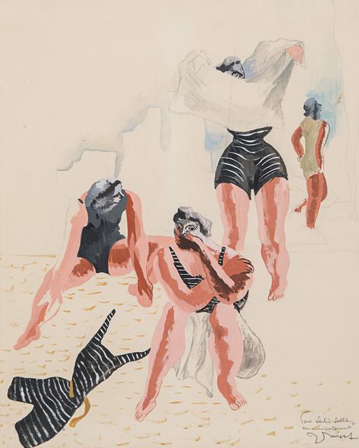 , 'Les baigneuses,' 1933, Rosenberg & Co.