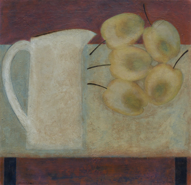 , 'Jug with Apples,' 2018, Thackeray Gallery
