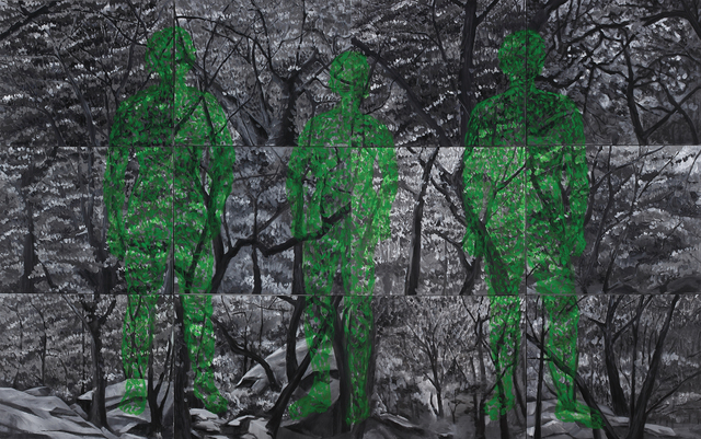 , 'There is a Revolution in the Forest,' 2010, CMay Gallery
