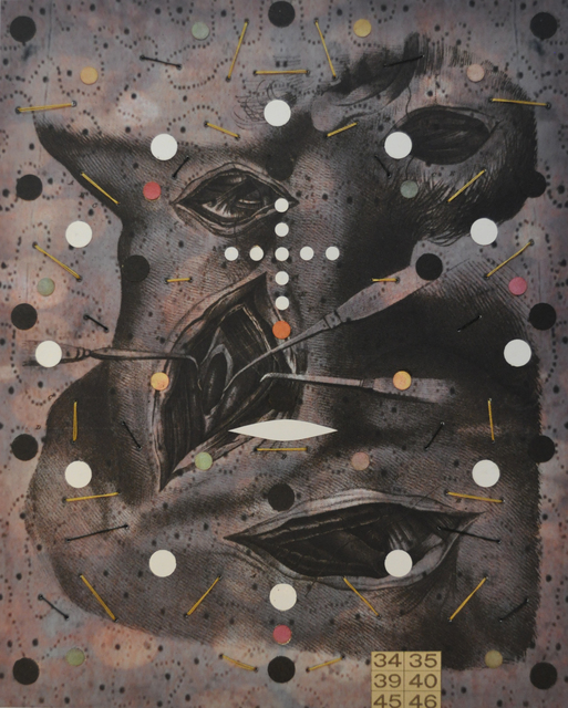 , 'Anatomy #3,' 2013-2014, Muriel Guépin Gallery