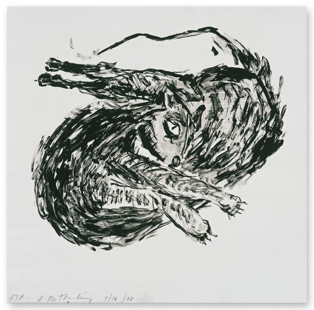 Susan Rothenberg, 'Twisted Cat', 2008, Gemini G.E.L.