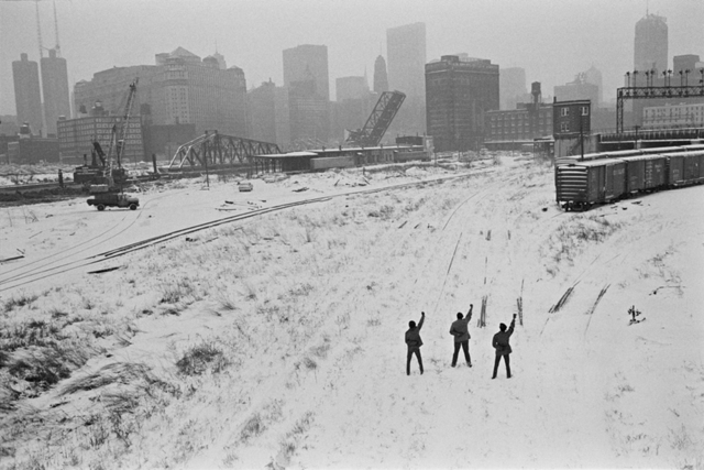 , 'Black Panthers in Chicago, Illinois,' 1969, Danziger Gallery