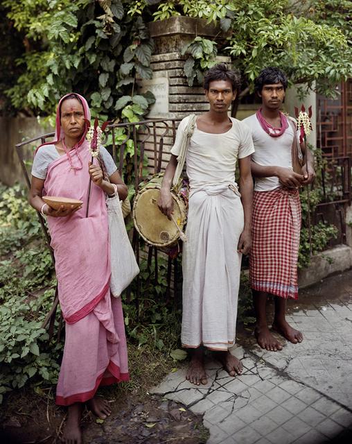 , 'Devotees of Shiva, Jodhpur Park, Kolkata,' 1998, Benrubi Gallery