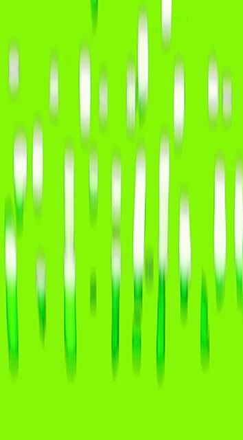 , 'Lime-Green Rain,' 2018, Barry Whistler Gallery