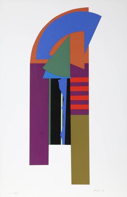 Budd Hopkins, 'Guardian', 1979, Print, Silkscreen, iMuseum Vegas