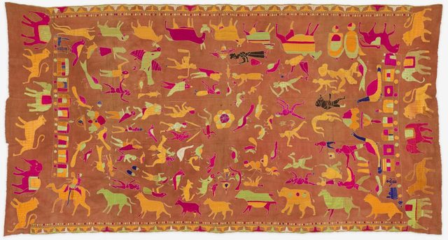 , 'Sainchi Phulkari,' ca. 20, Philadelphia Museum of Art
