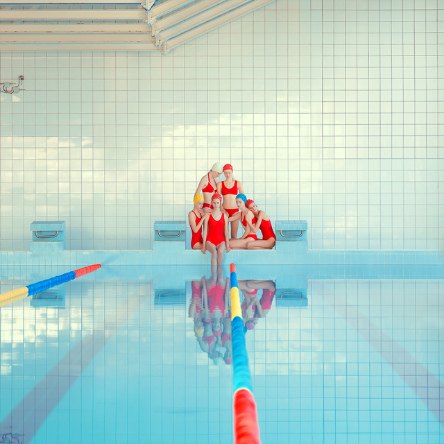 , 'Girl Pool ,' 2018, Think + Feel Contemporary