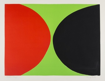 Sir Terry Frost, 'Red and Black on Green (Kemp 44),' 1968, Forum Auctions: Editions and Works on Paper (March 2017)