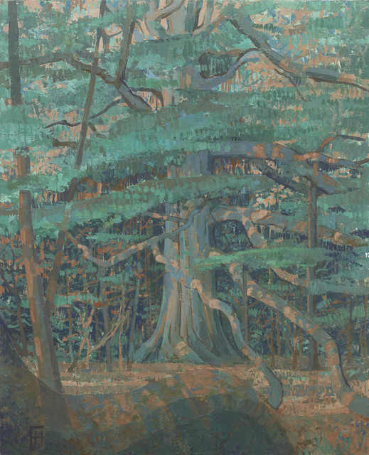 , ' Giant Beech Tree at Rousham, Oxon.,' 2017, John Martin Gallery