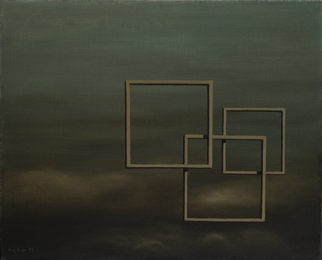 Kay Sage, 'South to Southwesterly Winds Tomorrow,' 1957, Weinstein Gallery