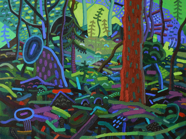 , 'Through the Glade,' 2017, G. Gibson Gallery