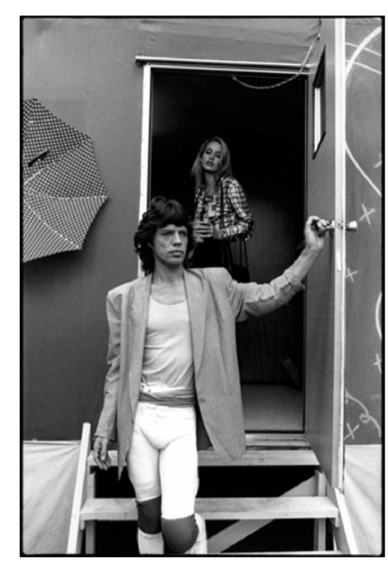 Michael Halsband, 'Mick Jagger & Jerry Hall, October 24-25, 1981, Tangerine Bowl', 1981, SPONDER GALLERY