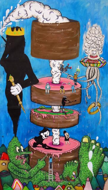 RICARDO MUÑOZ IZQUIERDO, 'La Torta de Babel (The Cake of Babel)', 2018, Galeria Enrique Guerrero
