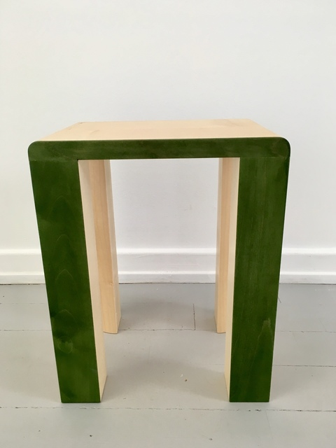, 'Silo Stool - Green,' 2017, Etage Projects