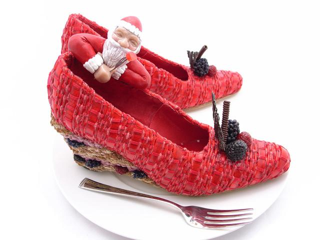 , 'Black Currant and Wild Strawberry Cake-Santa's Nibble,' 2009, Dillon + Lee