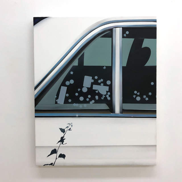 Aaron Elvis Jupin, 'I think I See It, Trees and Flowers (Backseat Driver)', 2019, Fisher Parrish Gallery