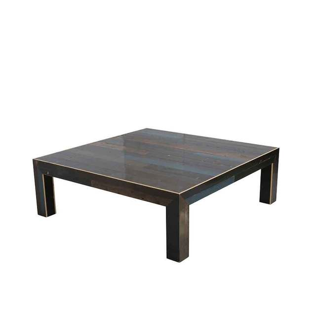 , 'Dark Colors Canteen Square Coffee Table,' 2018, The Future Perfect