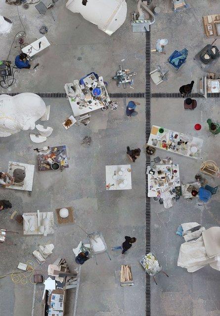 , 'Bildhauer Werkstatt, Berlin,' 2018, Bau-Xi Gallery