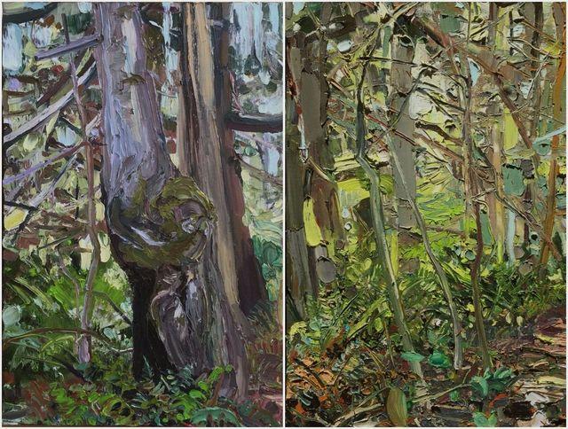 , 'Clear Paths (Diptych),' 2002, Thomas Deans Fine Art