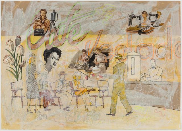 , 'Vedado (No. 21),' 2006, Track 16 Gallery
