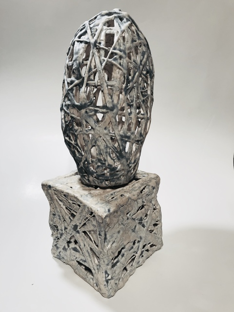 , 'Porcelain head,' 2018, Faur Zsofi Gallery