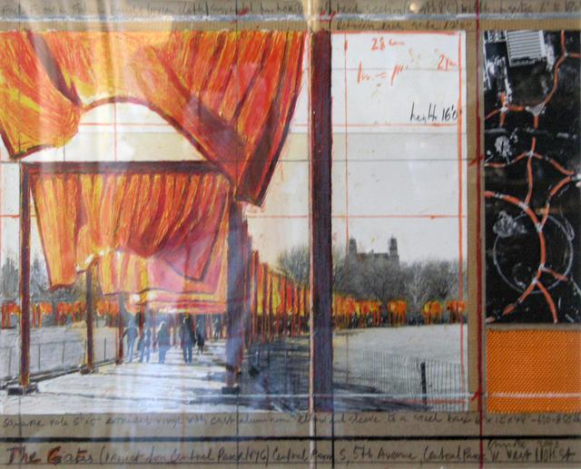Christo, 'The Gates Drawing', 2003, Rita Krauss Fine Art FLA.