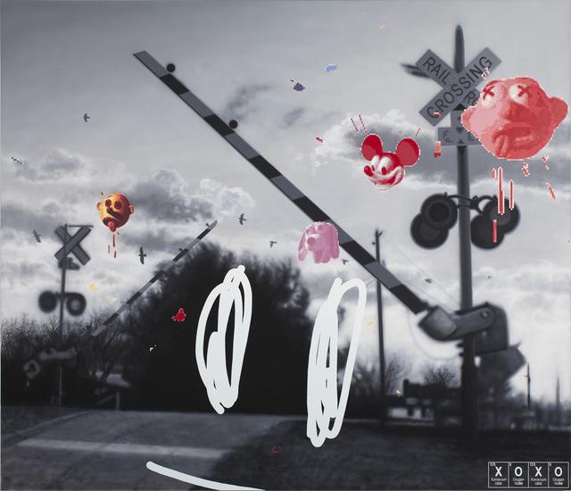 Vernon Fisher, 'XOXO', 2014, Mark Moore Fine Art