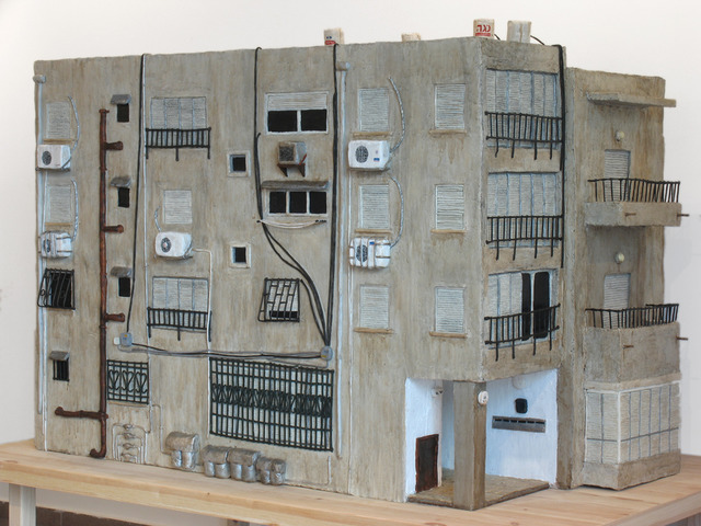 Shira Zelwer, 'Rashi 44', 2007, Sculpture, Wax, acrylic paint, wood panels and wire, Mirav Katri
