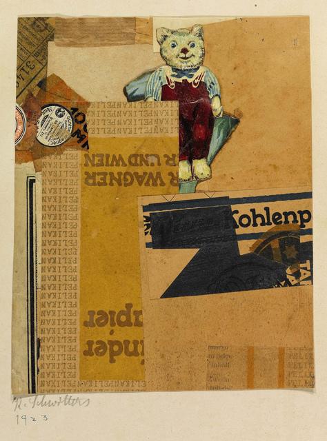 , 'Sans titre (WAGNER UND WIEN),' 1925, Galerie Zlotowski