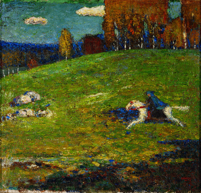 Wassily Kandinsky, 'The Blue Rider', 1903, Erich Lessing Culture and Fine Arts Archive