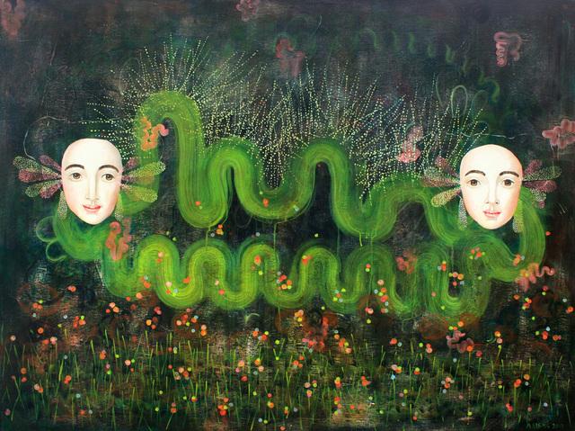 , 'Caterpillar,' 2017, Russo Lee Gallery