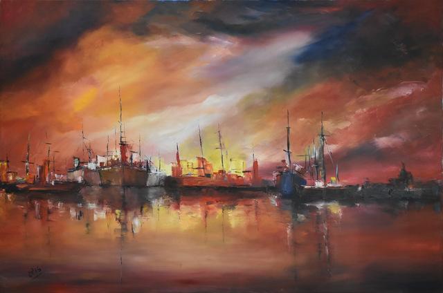 Corina Epis, 'Barcos en el Puerto', 2014, ACCS Visual Arts