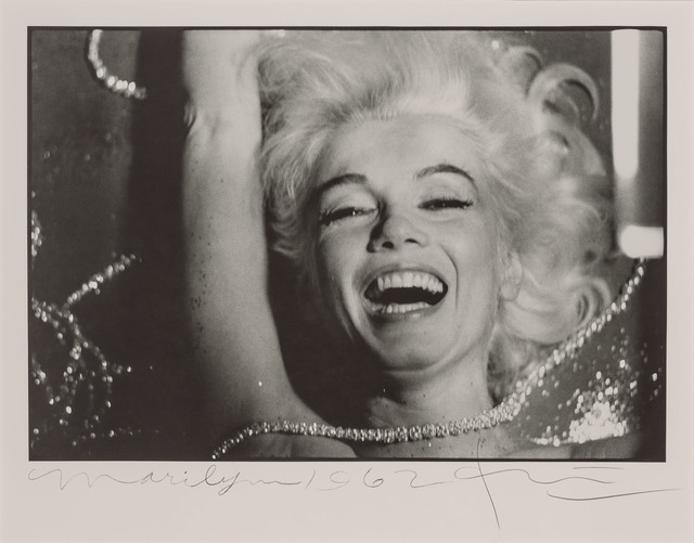Bert Stern, 'Marilyn Monroe with rhinestones, from The Last Sitting for Vogue Together with Marilyn Monroe, with lips partially parted, from The Last Sitting for Vogue', 1962, Doyle